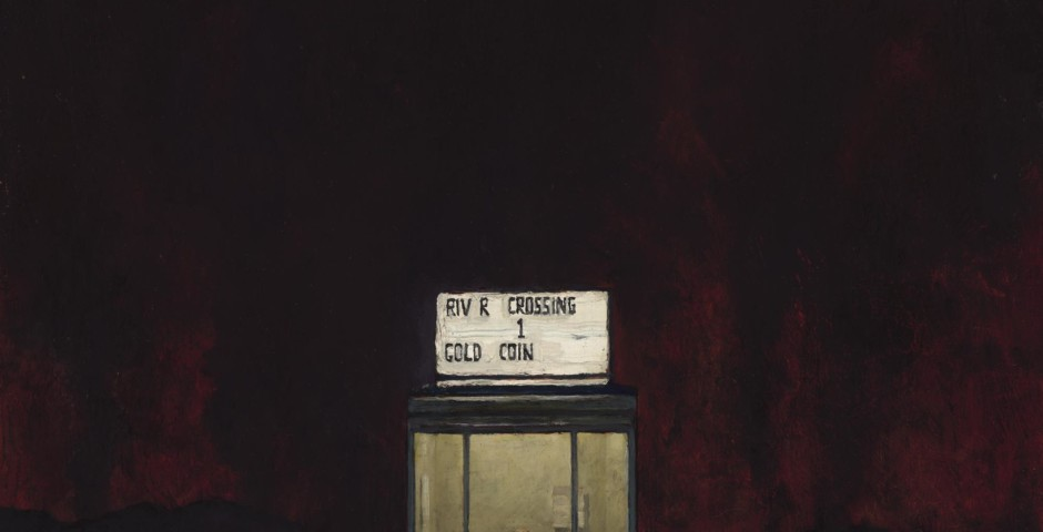 Last Transaction, 28 x 24, oil on canvas, 2017
