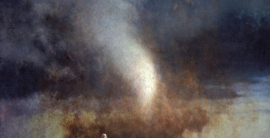 American Farm, 48 x 60, oil on canvas, 2005