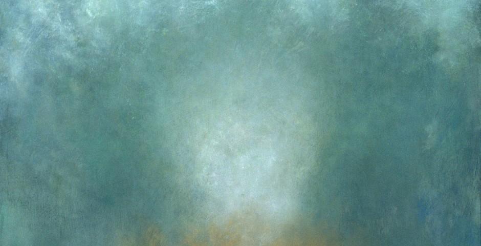 Annunciation, 48 x 48, oil on canvas, 2003
