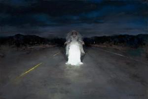 Bride in Headlights