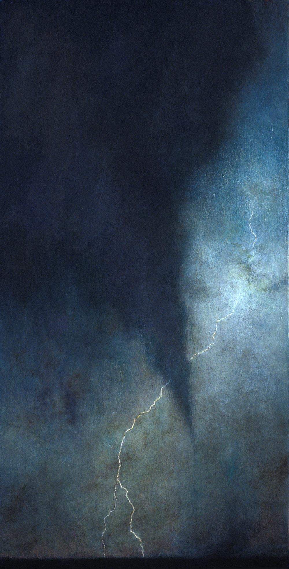 By Lightning