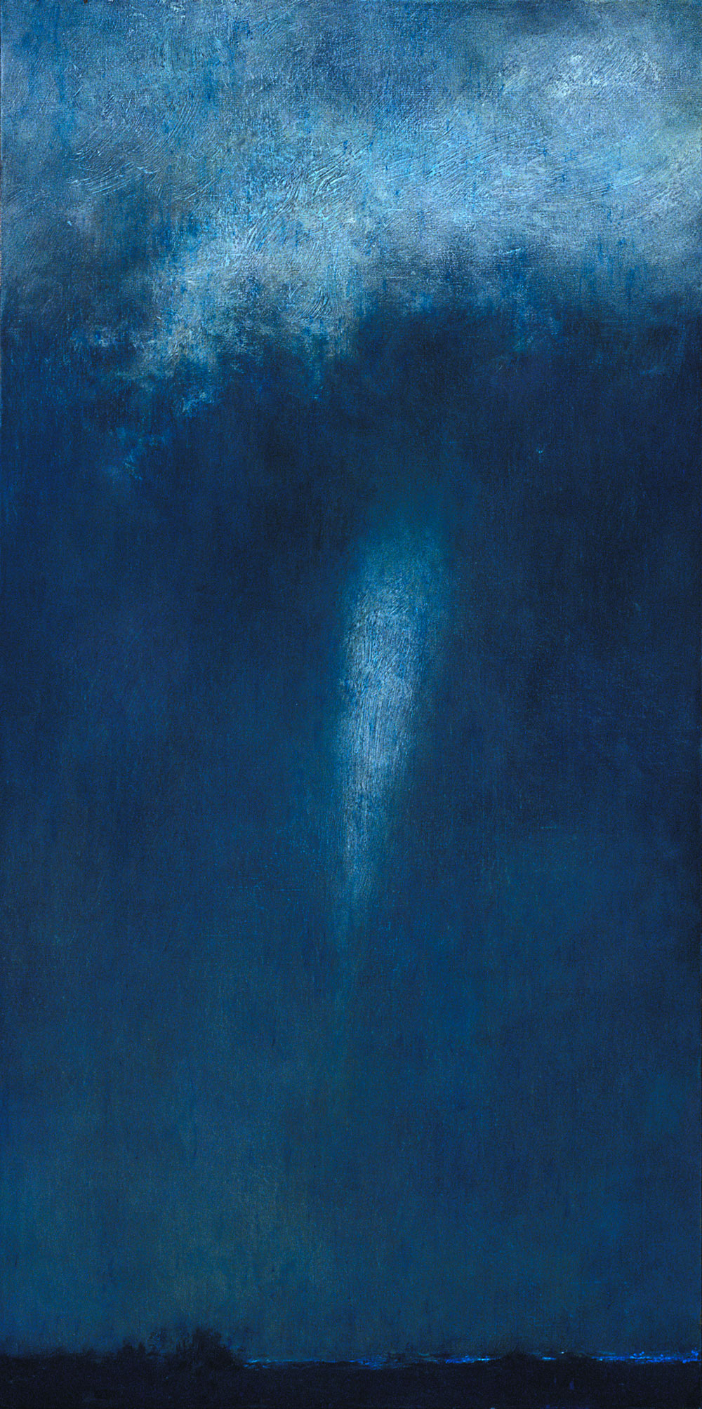 By Moonlight, 48 x 24, oil on canvas, 2005