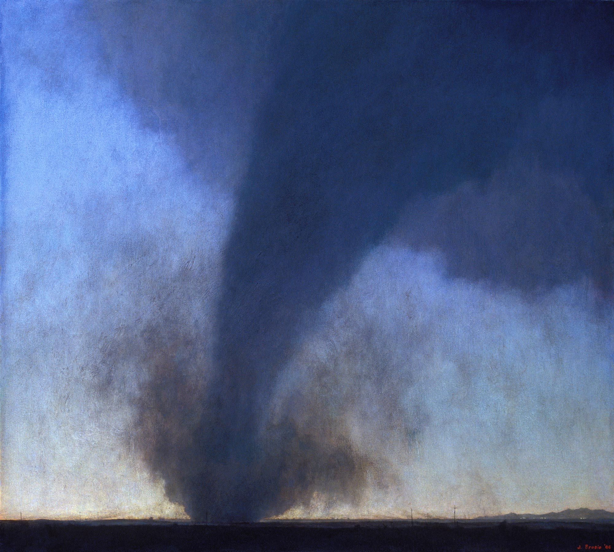 Eastern Colorado, 54 x 60, oil on canvas, 2006