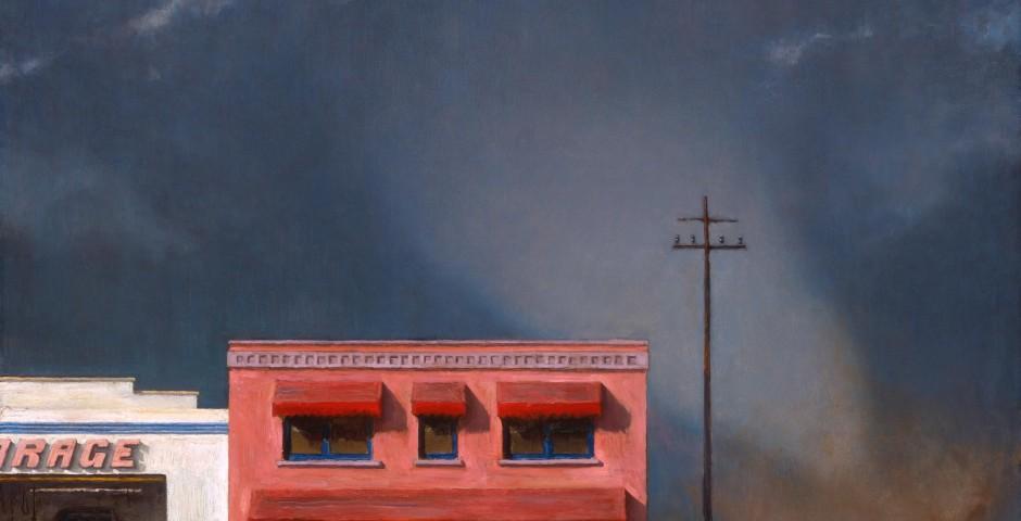 Edge Of Town 3, 18 x 22, 2002