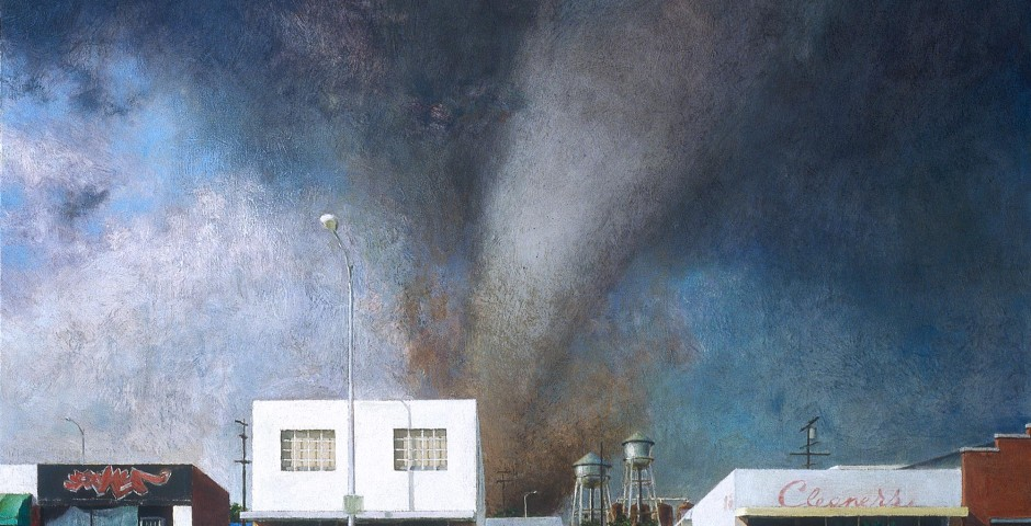 Edge of Town 4, 42 x 54, oil on canvas, 2003