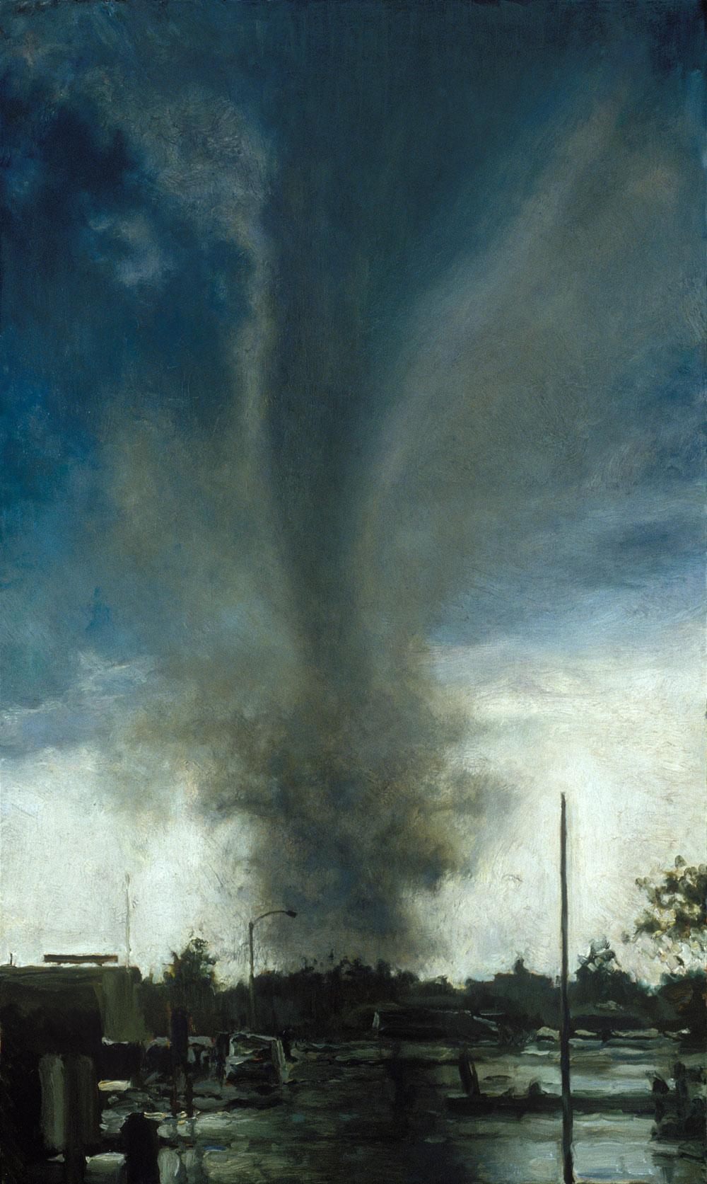 Evening Dancer, 60 x 36, oil on canvas, 2003