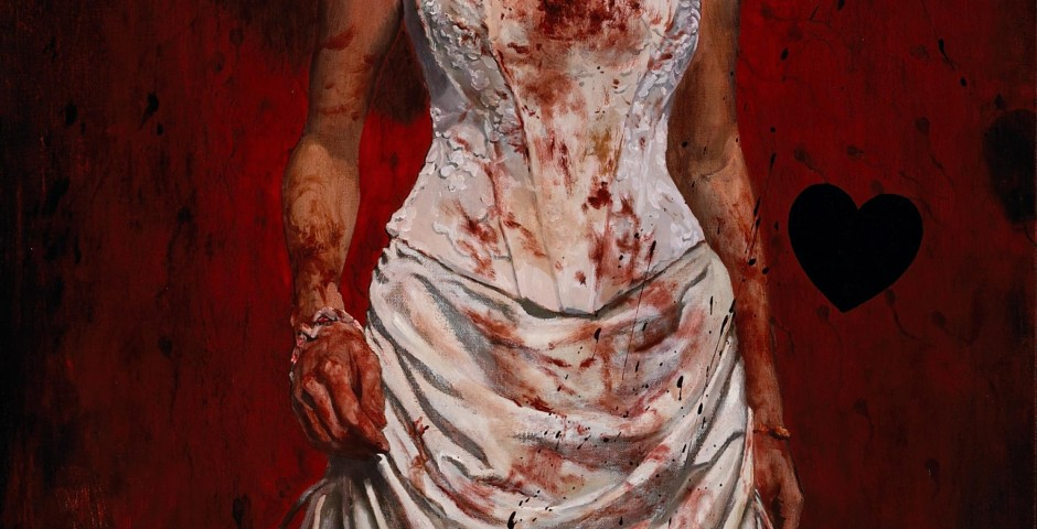 Fatherless Bride 2, 48 x 24, oil on canvas, 2007