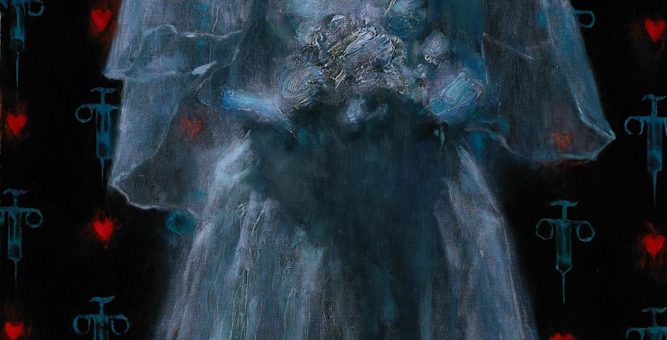 Fatherless Bride 3, 48 x 24, oil on canvas, 2007