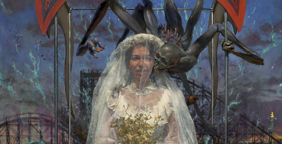Fatherless Bride, 60 x 45, oil on canvas, 2009