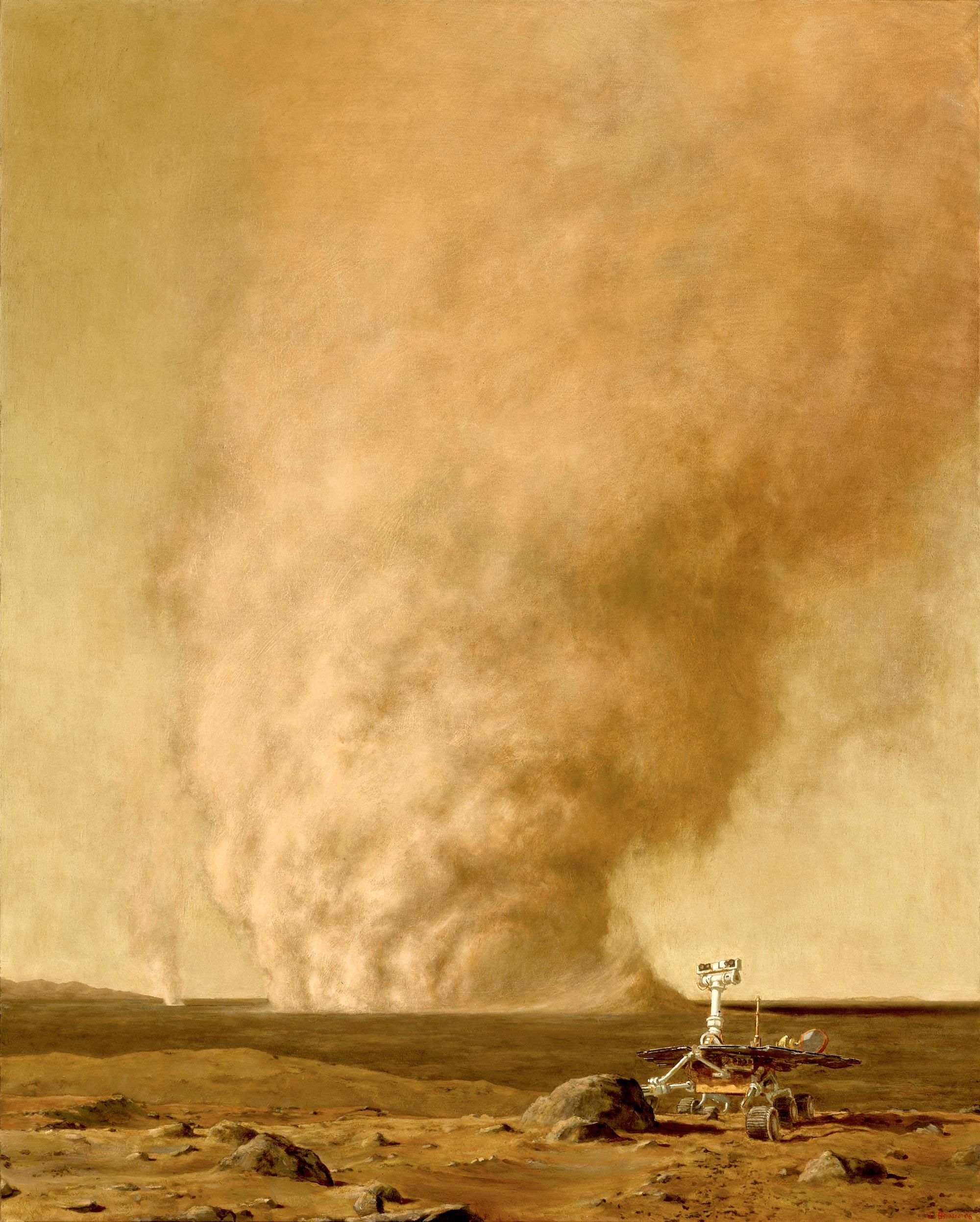 In Valles Umbrarum, 60 x 48, 2006