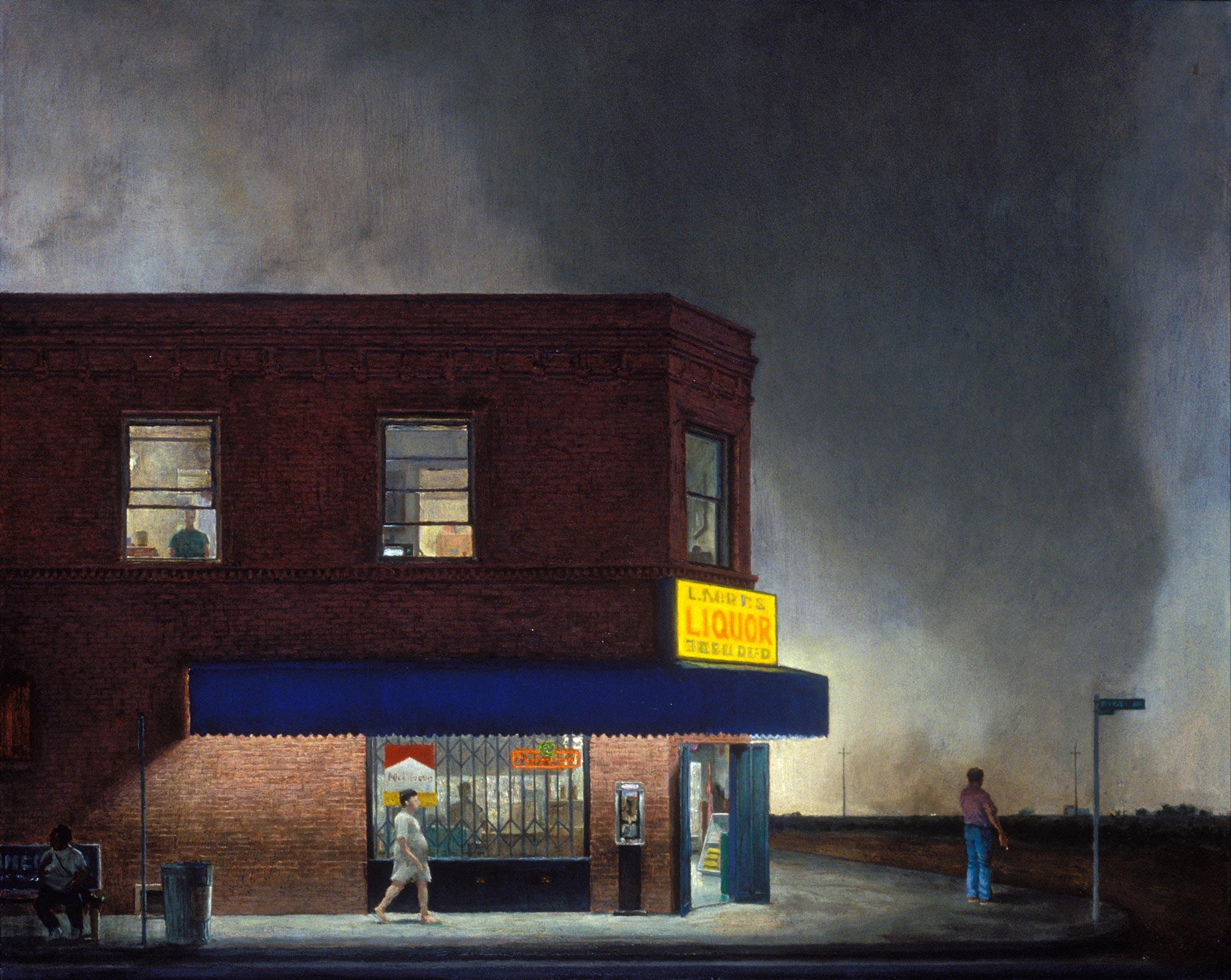 Island 2, 48 x 60, oil on canvas, 2002