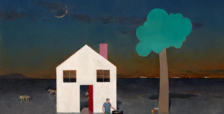 Last Hot Dog, 24 x 30, oil on canvas, 2013