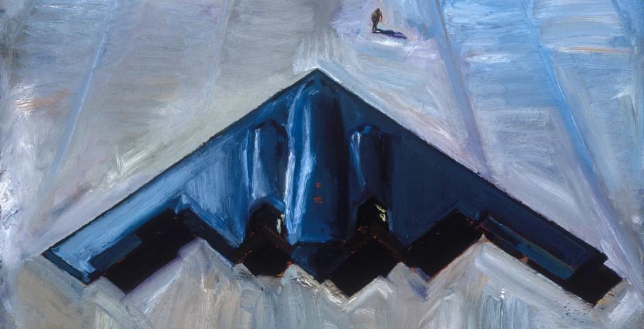 Meet Thy Maker, 30 x 48, oil on canvas, 1998