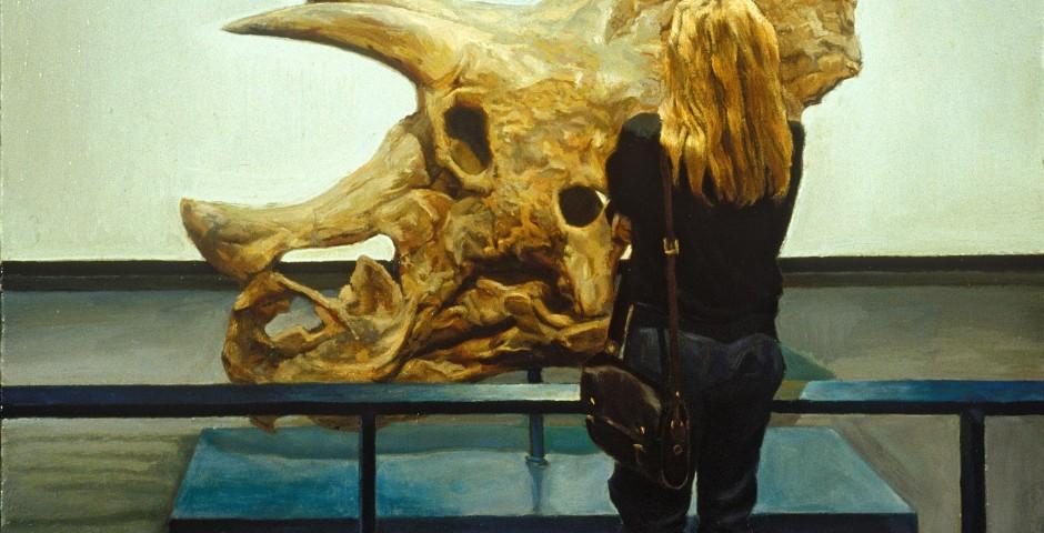 Predecessor, 22 x 19, oil on canvas, 1993