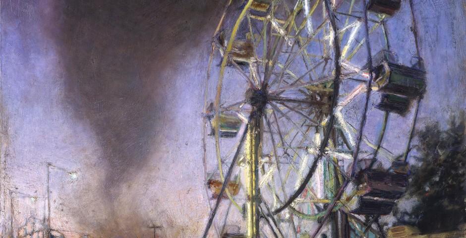 Rides 60 x 48, oil on canvas, 1998