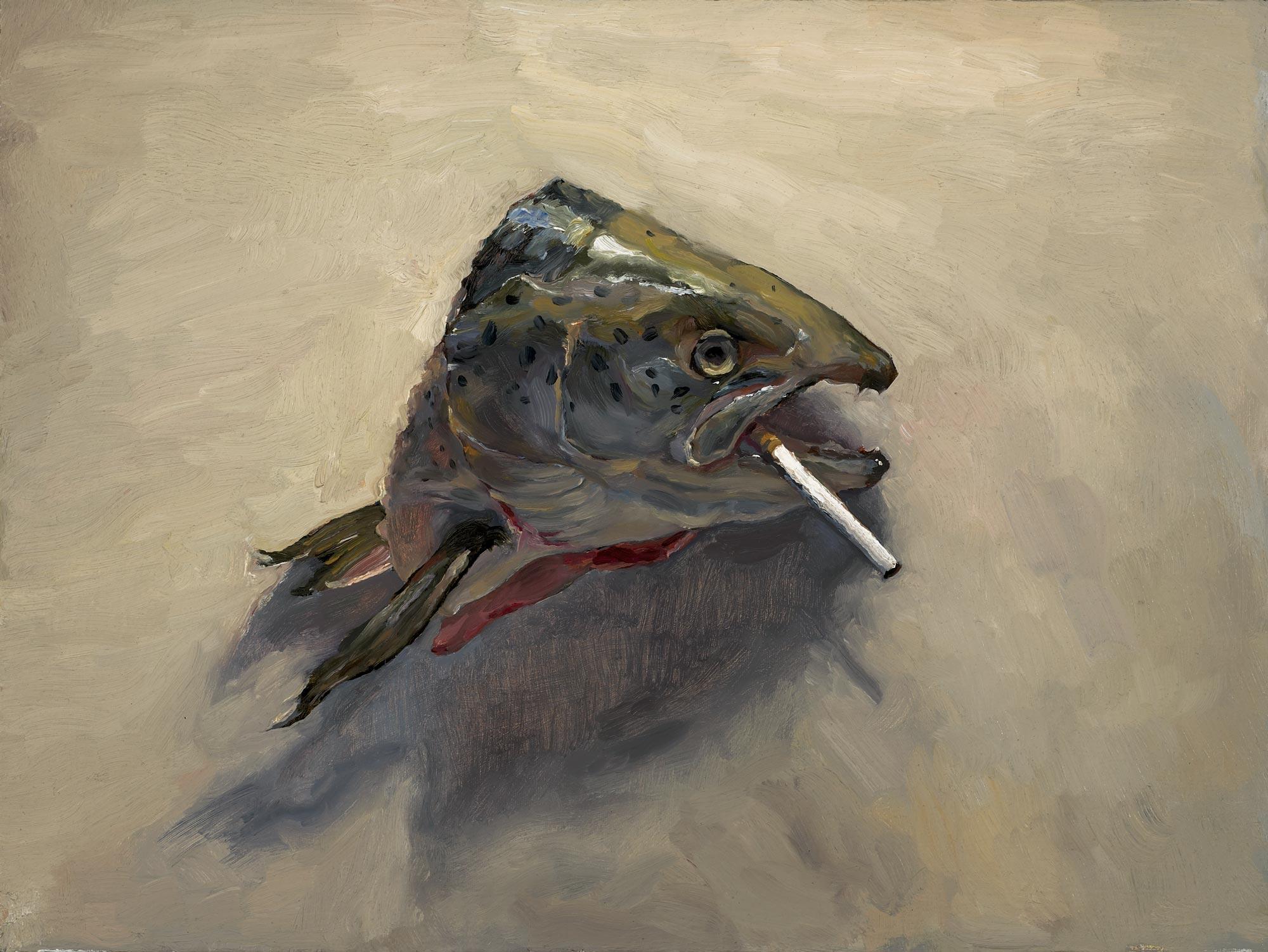 Sleepy Head 3, 18 x 24, oil on canvas, 2010