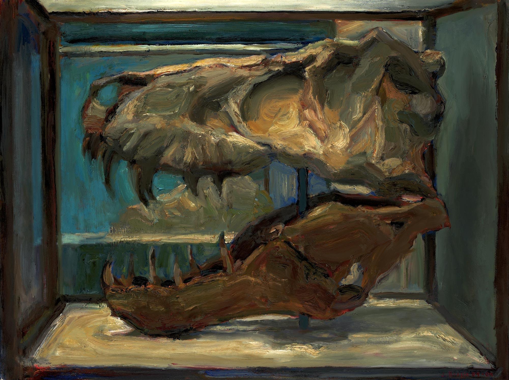 Sleepy Head, 36 x 48, oil on canvas, 2009