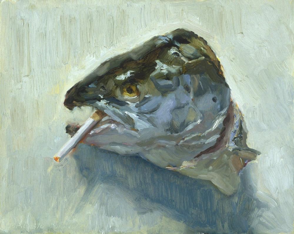 Smoking Salmon 2