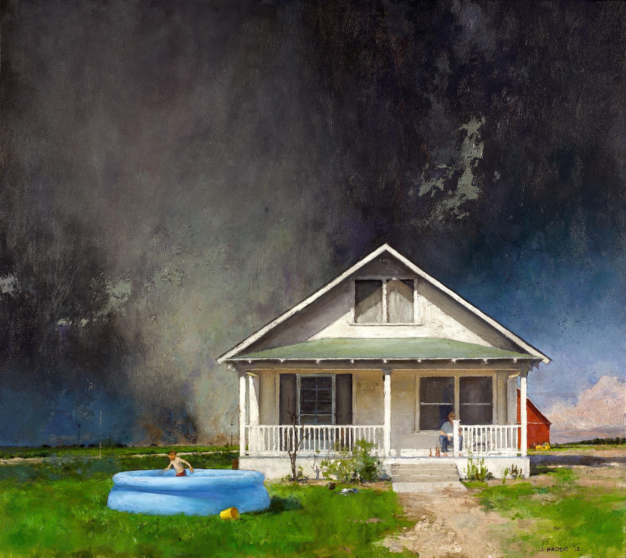Terrarium, 32 x 36, oil on canvas, 2012