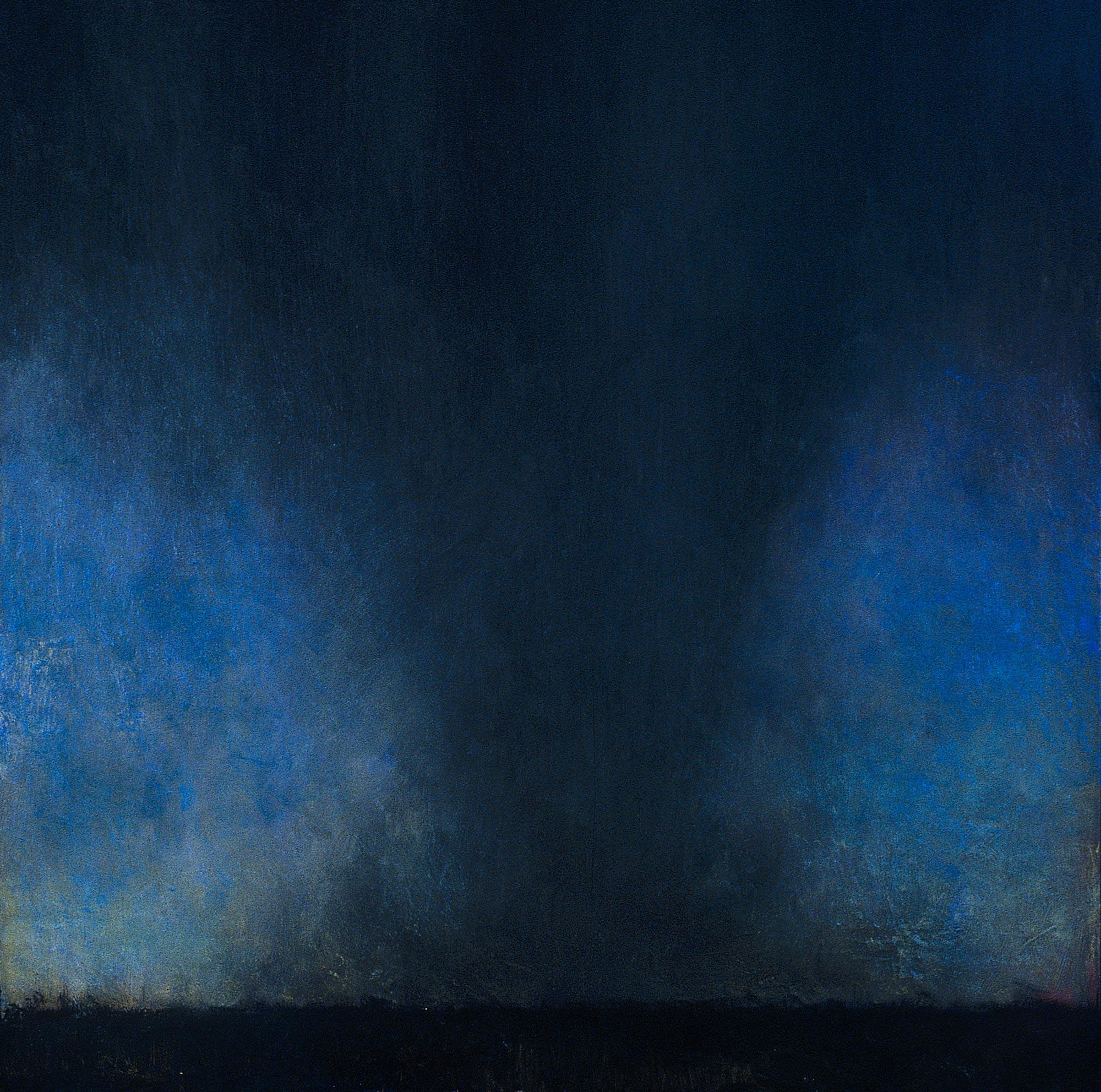 Tornado at Dusk, 48 x 48, oil on canvas, 2003