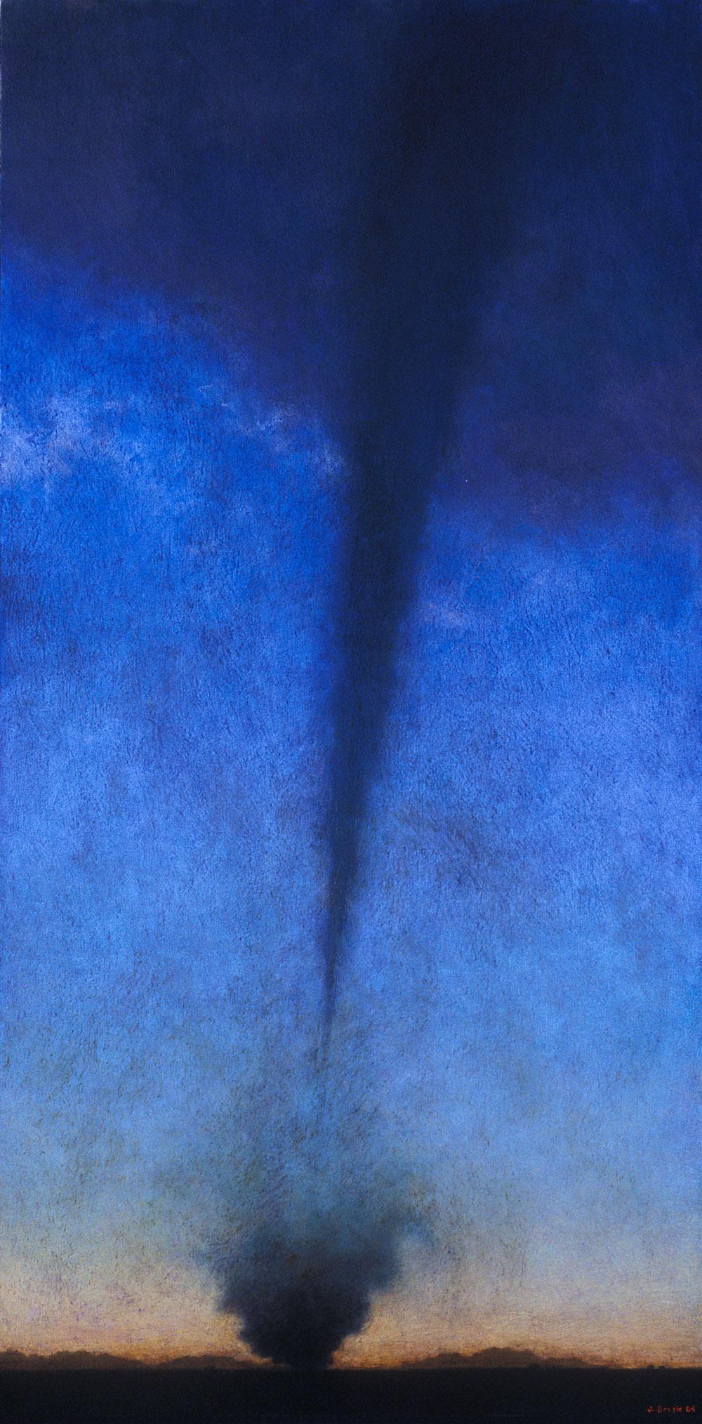 Twilight, 48 x 24, oil on canvas, 2005