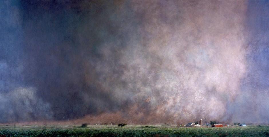 Unforgiven, 54 x 108, oil on canvas, 2005