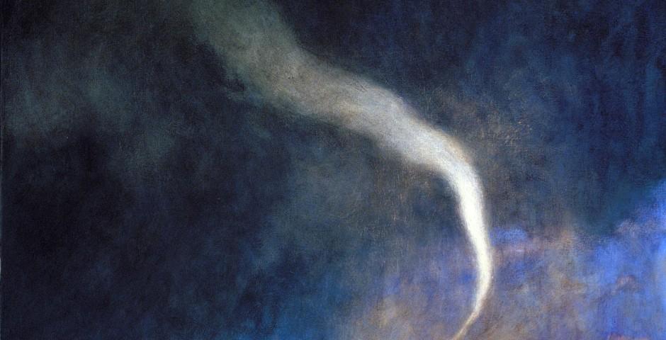 Virgin Reaper, 46 x 40, oil on canvas, 2006